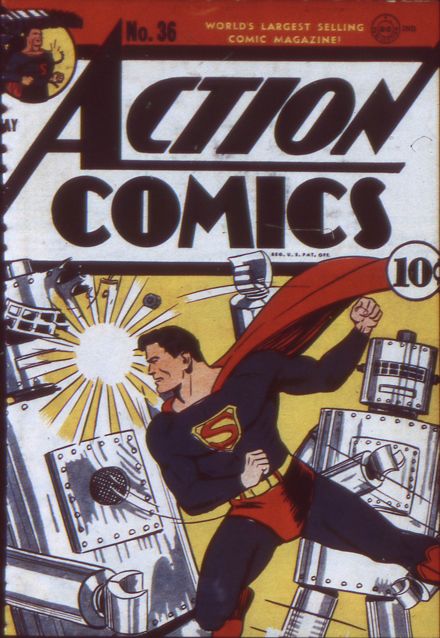 Action Comics (1938) 36 Page 1