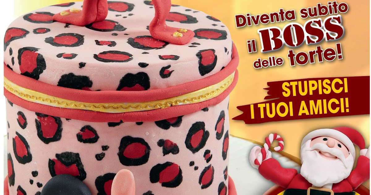 Cake passion torte spettacolari cake decorating alla for Art e decoration rivista