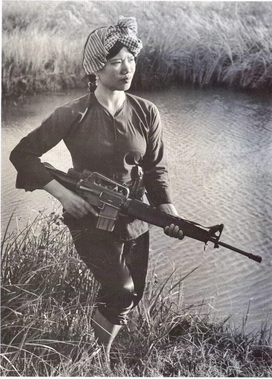 guerrera Vietcong