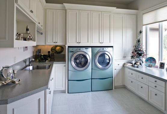 Vinyl Flooring for Laundry Room