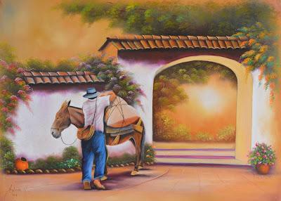 entradas-de-haciendas-pintadas-al-oleo