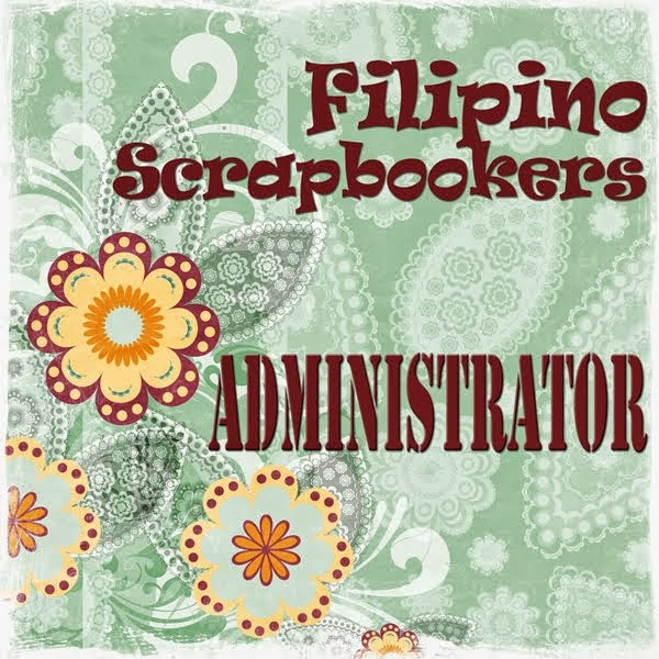 Resigned Administrator of the Filipino Scrapbookers: