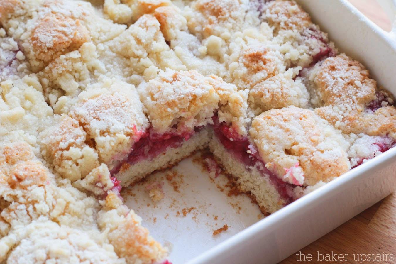 Raspberry Coffee Cake Buttermilk