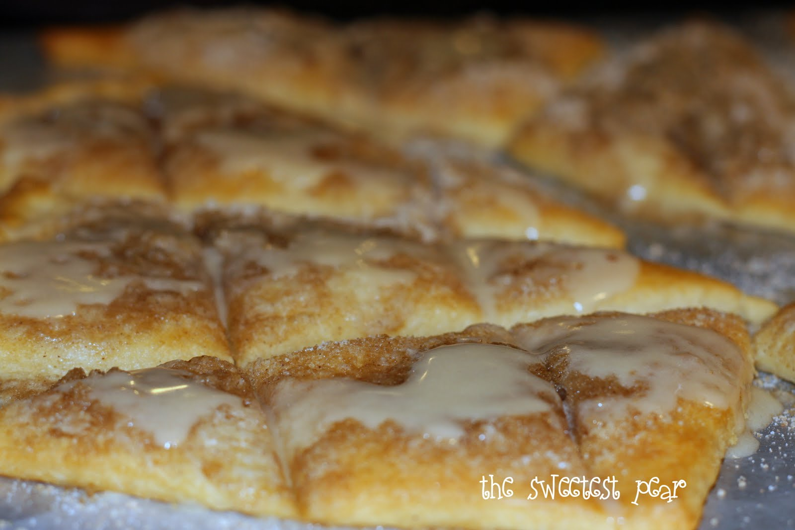 The Sweetest Pear: Cinnamon-Sugar Pizza