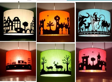 L mparas infantiles on pinterest paper lamps fiestas for Lamparas pared infantiles