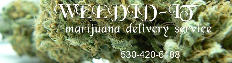 Sacramento marijuana delivery service