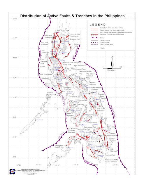 The Project Review Philippine Fault Zone Maps