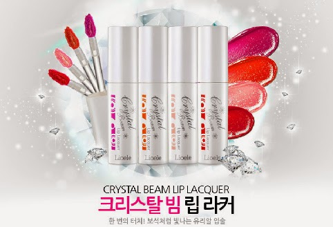 lioele crystal beam lip lacquer
