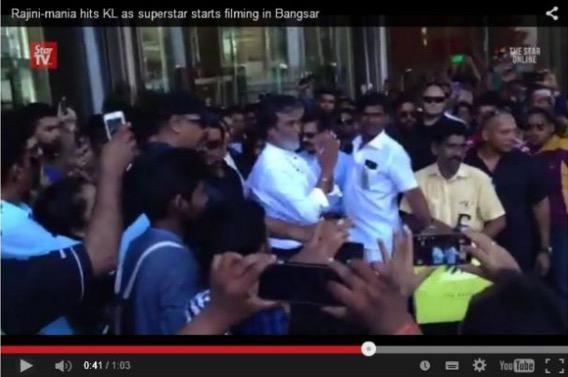 Pertemuan Rajnikanth dan Najib Diatur