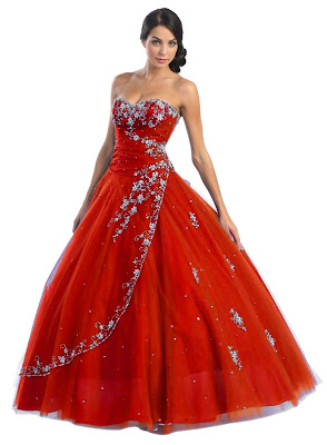 red wedding dresses10