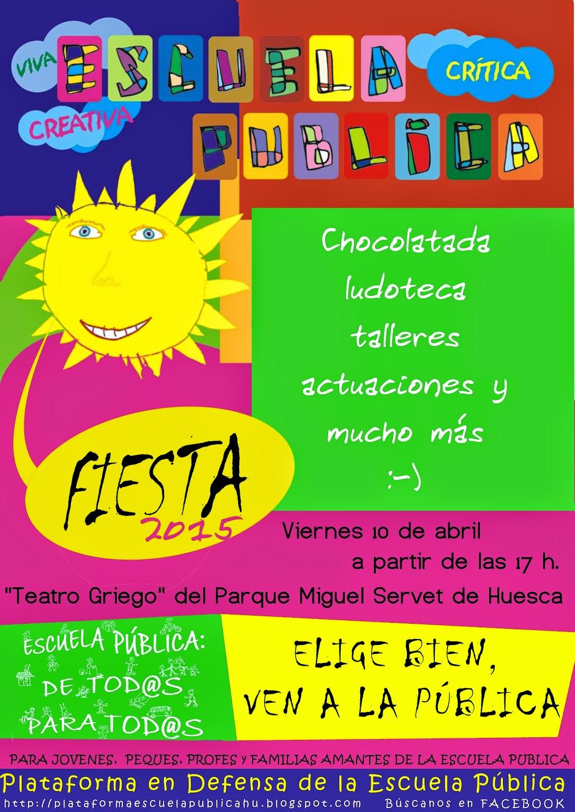 Fiesta Escuela Pública 2015