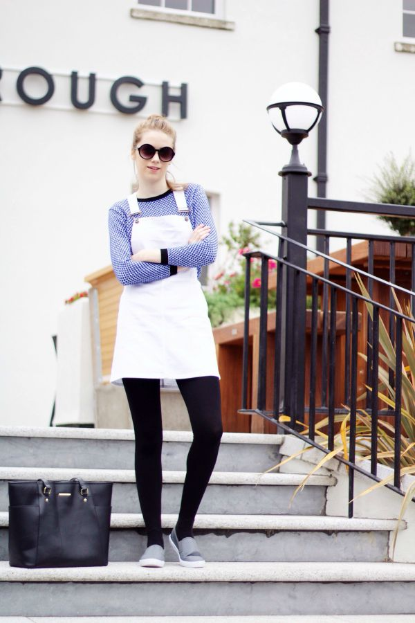 How to style a pinafore dress