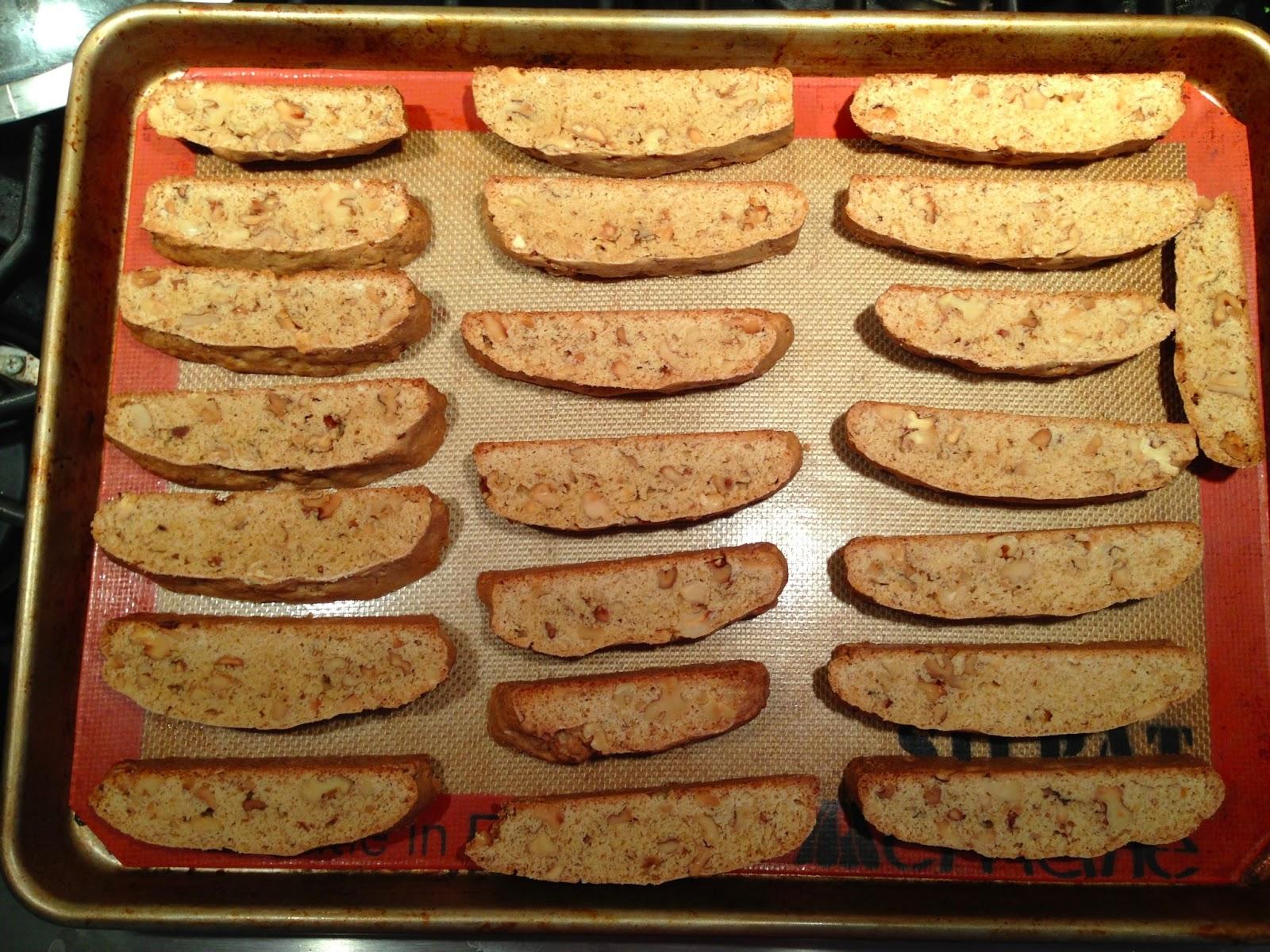 Bad Ass Baker: Maple-Walnut Biscotti