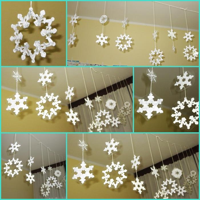 Studiamando liberamente: Decorazioni invernali: fiocchi di neve