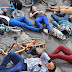 """Manifestantes exigen """"no más ciclistas muertos"""" con rodada en la Ciudad de México"""