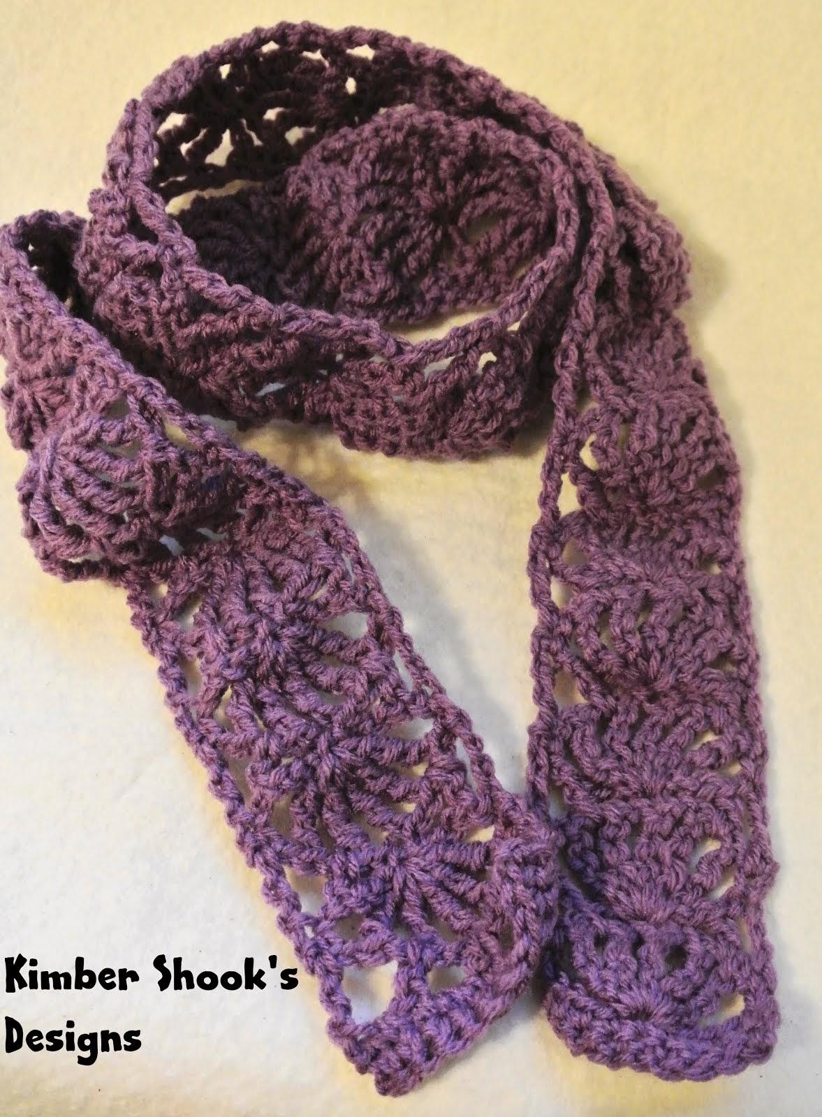 Handmade scarf on Etsy