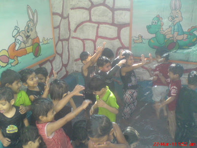 Euro Kids Play school Celebrating Holi 2011