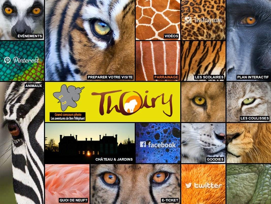 Une sortie au zoo de Thoiry