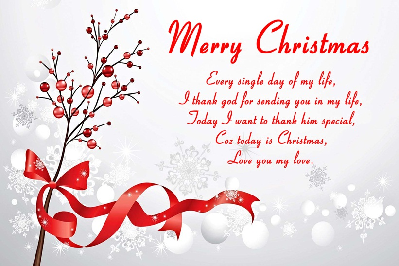 christmas love quotes with image
