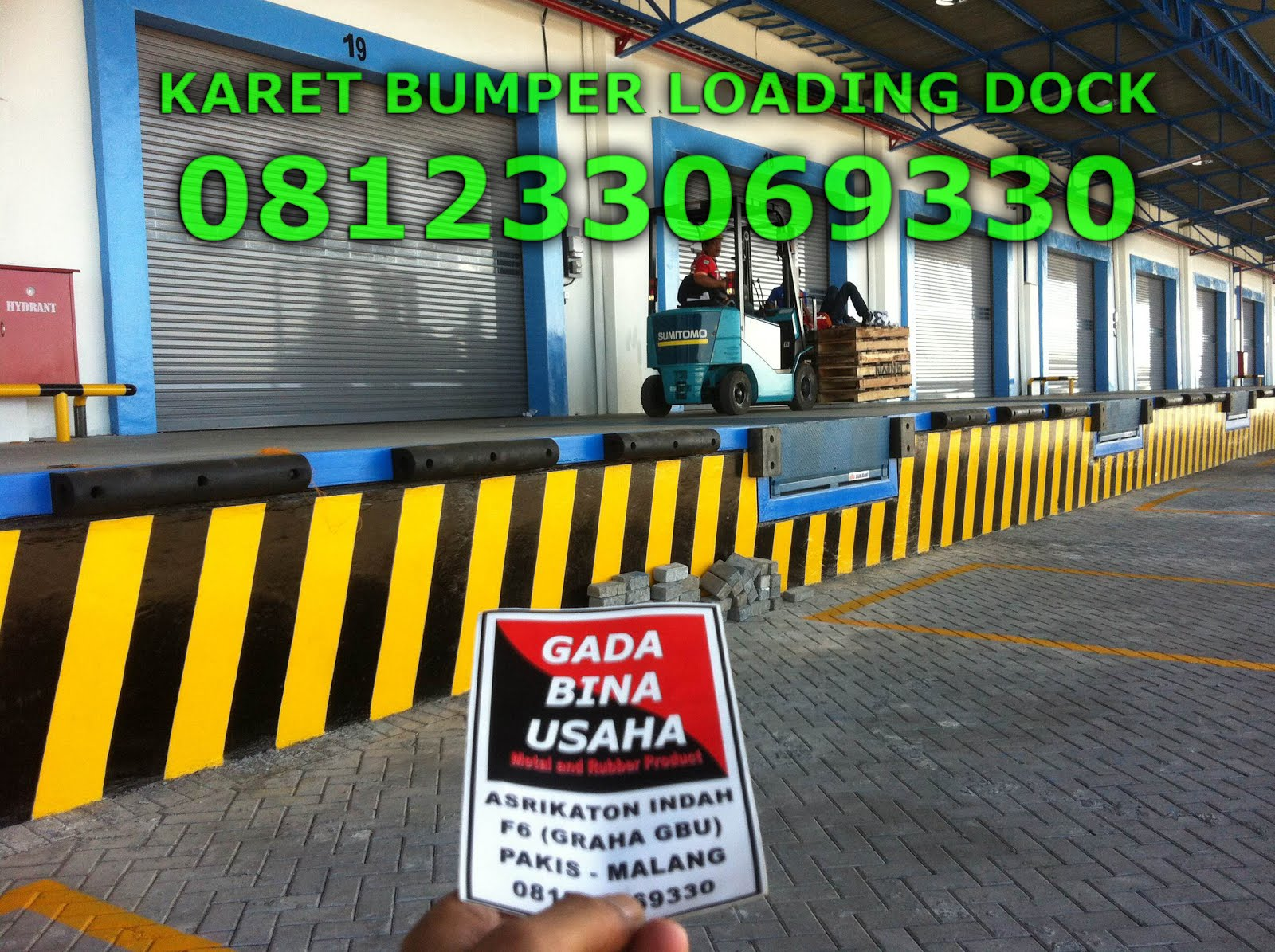 Produsen Karet Bumper Gudang