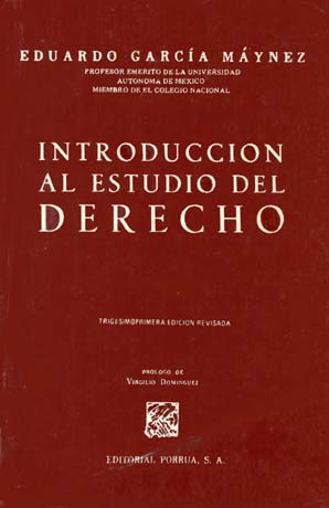 introduccion al estudio del derecho maynez download