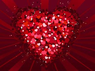 corazon hecho de corazones