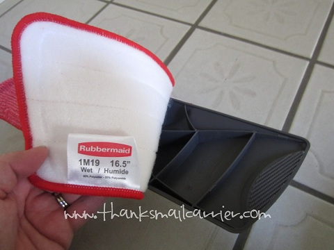 Rubbermaid microfiber cleaning pad
