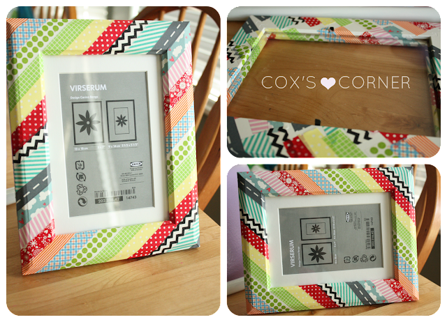 Washi Tape Ikea Picture Frames