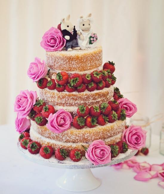 Victoria sponge cake, wedding cake
