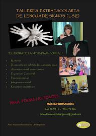 talleres lengua signos colegios