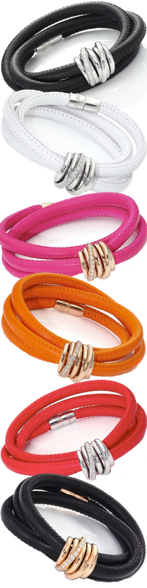 de GRISOGONO Assorted Colors Wrap Bracelets