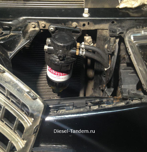 сепаратор stanadyne на паджеро спорт