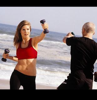 Heidi Klum's Workout for Weight Loss