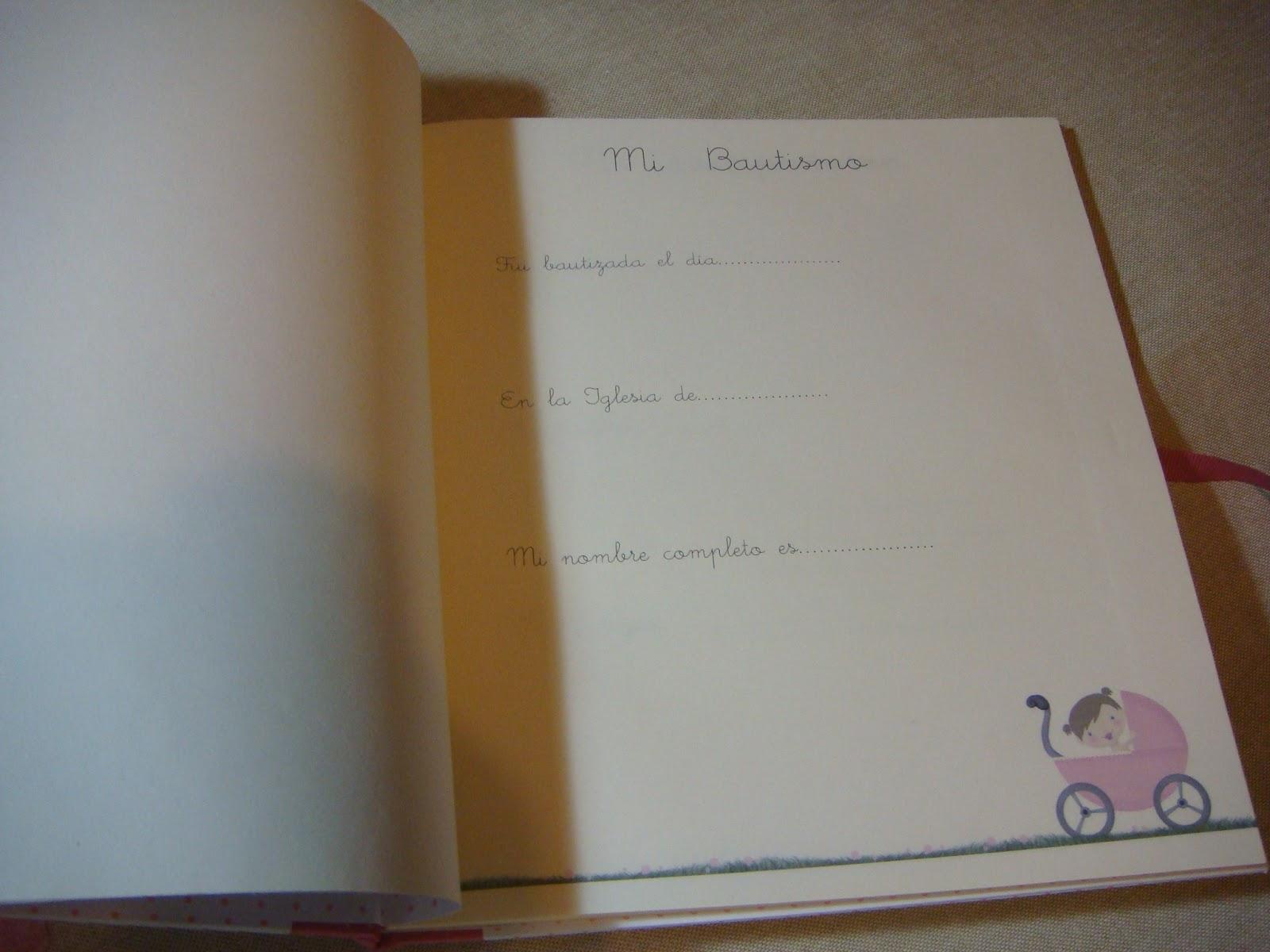 Libro Fotos Bautizo Libro de Bautizo Para Todos