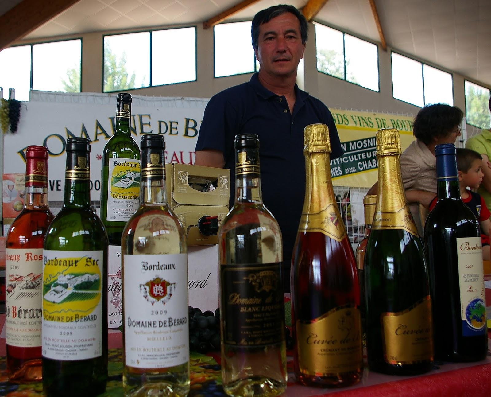 Fleur de vigne en r domaine de b rard for Salon du vin nancy