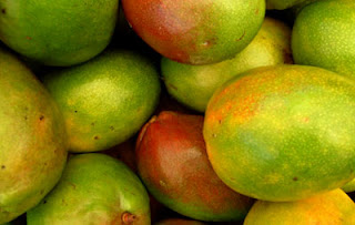 colorful mango