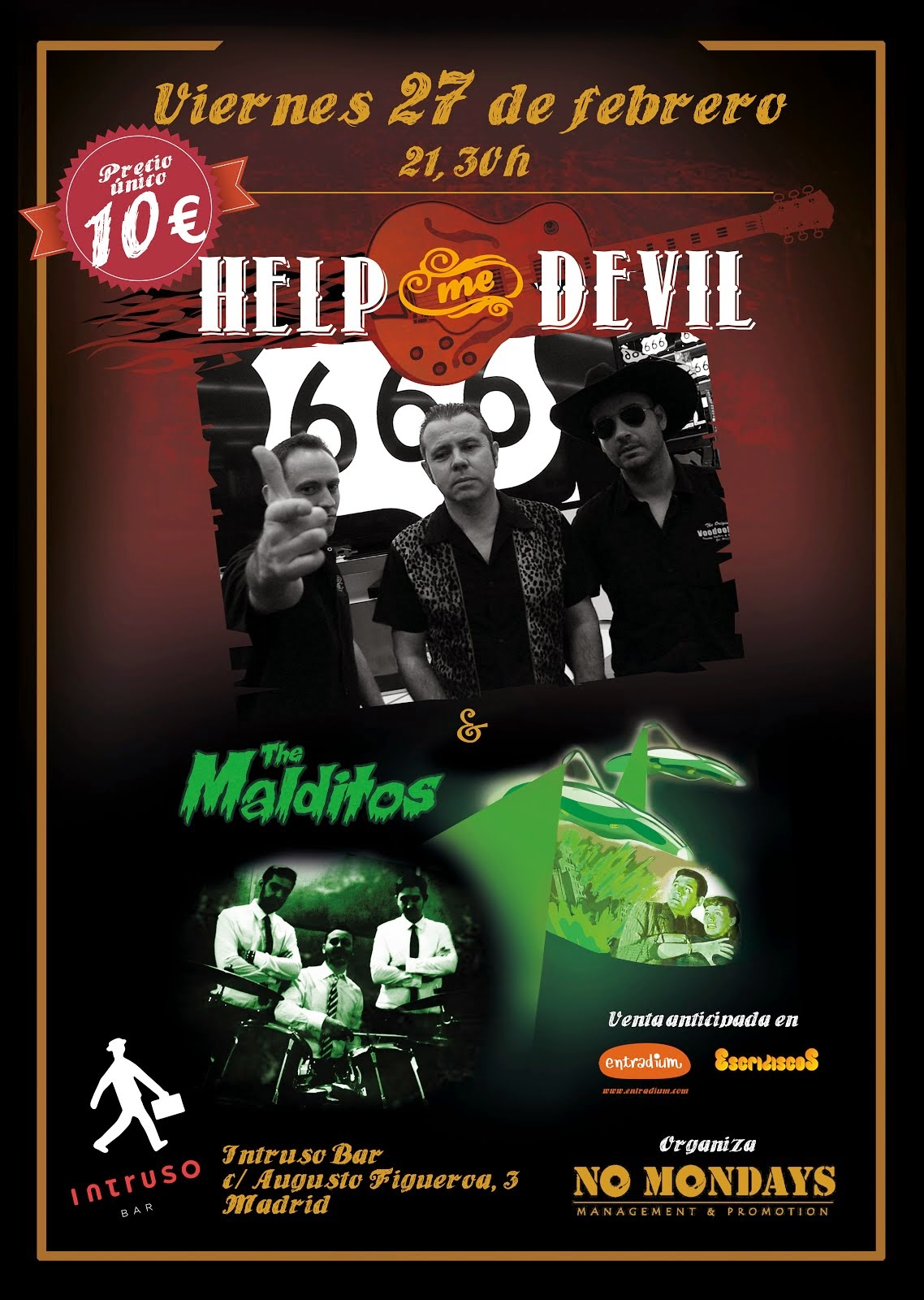 Help Me Devi + The Malditos (27/02/2015)