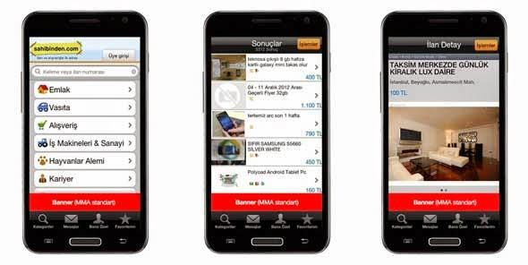 Android sahibinden.com Apk resimi