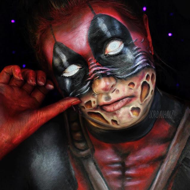 Incríveis e criativos trabalhos de Body e Face Painting de Jordan Hanz