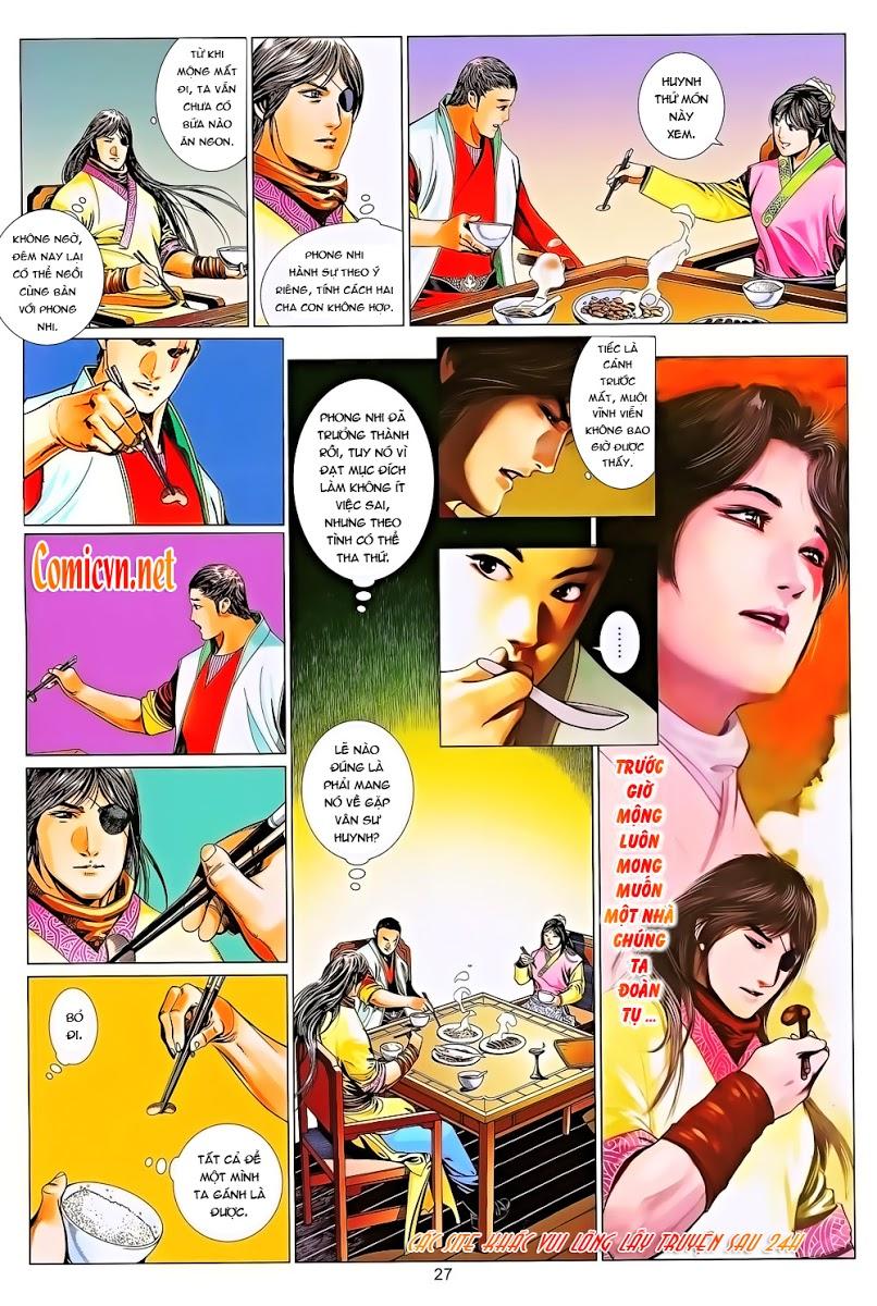 Phong Vân chap 643 Trang 27 - Mangak.info