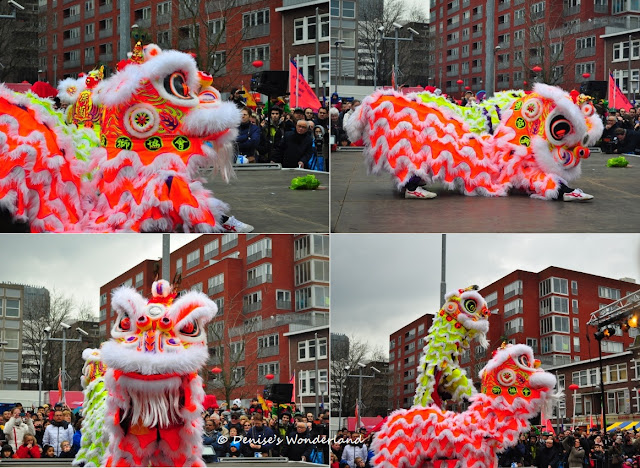 Lion Dance Action Sequence