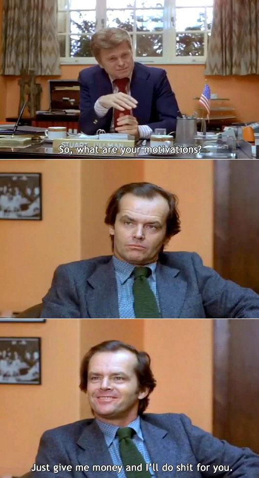 A Nonsense Question During A Job Interview
