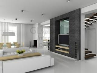 ruang tamu minimalis mewah