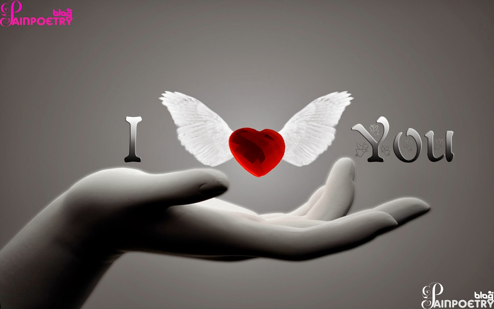 Love-Wishes-Photo-Images-With-Hand-And-Red-Heart-HD