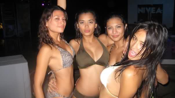 michelle madrigal, bubles paraiso, mylene dizon, joyce jimenez sexy bikini photo