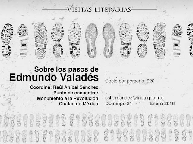 Recorrido literario por Reforma Centro para recordar a Edmundo Valadés