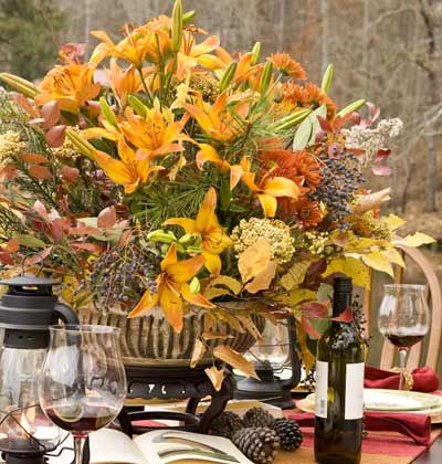 Home Interior Design: Thanksgiving at the Lake