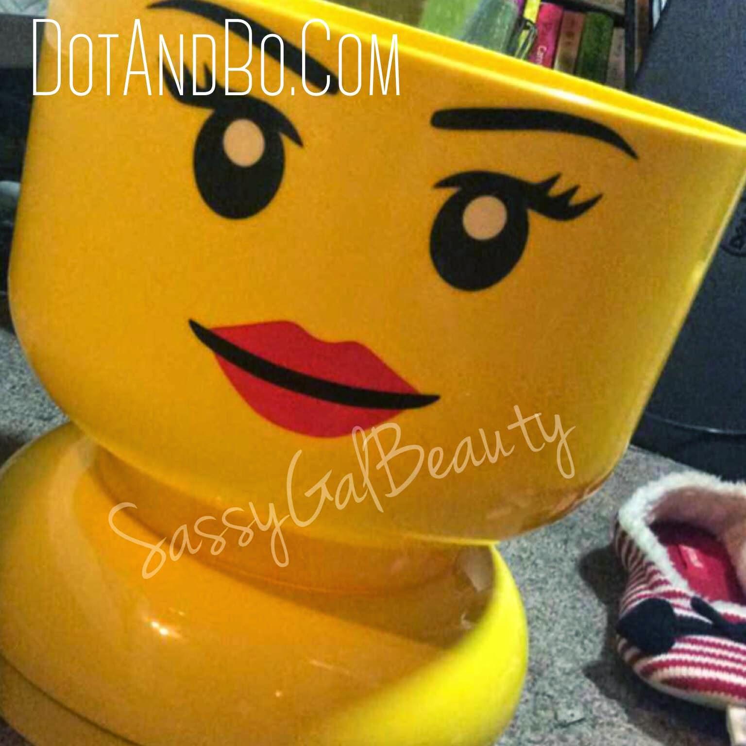 LegoHead from DotandBo.com