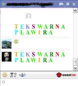 cara membuat teks berwarna di facebook, facebook warna warni, facebook berwarna, facebook bergambar, facebook chat