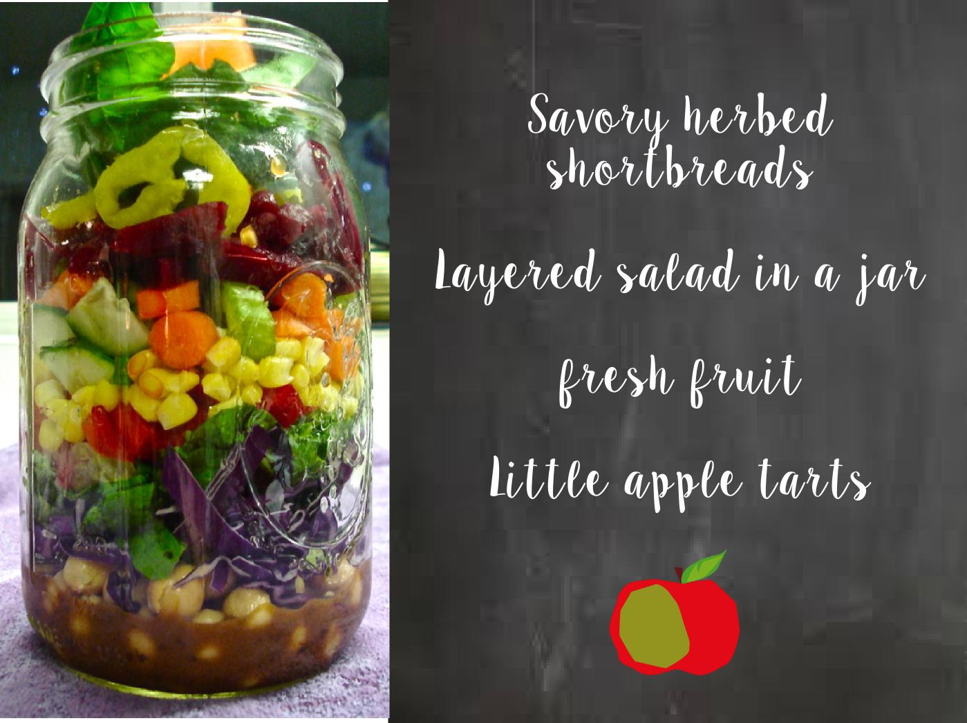 Layered Salads Like This Are Little Pieces Of Art They Trendy But Also Really Do Work Well The Trick Is To Put Something On Bottom Layer That